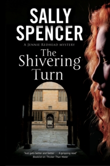 The Shivering Turn : A PI Series Set in Oxford, Hardback Book