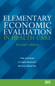 Elementary Economic Evaluation in Health Care, Paperback