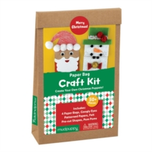 Merry Christmas! Paperbag Craft Kit, Kit