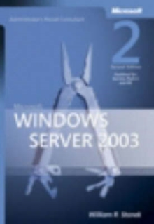 Microsoft Windows Server 2003 Administrator's Pocket Consultant, Paperback