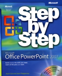 Microsoft Office PowerPoint 2007 Step-by-Step, Mixed media product Book