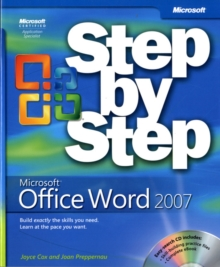 Microsoft Office Word 2007 Step by Step, Mixed media product