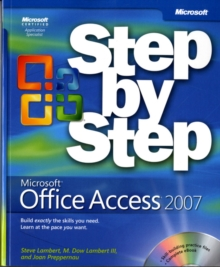 Microsoft Office Access 2007 Step-by-Step, Mixed media product