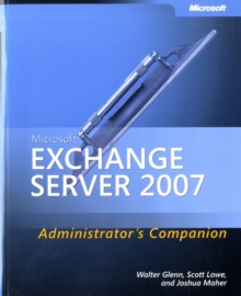 Microsoft Exchange Server 2007 Administrator's Companion, Mixed media product Book