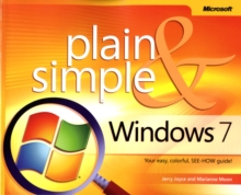 Windows 7 Plain and Simple, Paperback Book