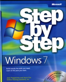 Windows 7 Step by Step, Mixed media product