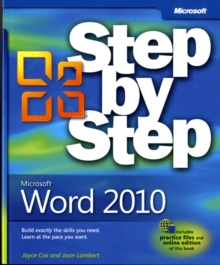 Microsoft Word 2010 Step by Step, Paperback