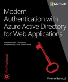 Modern Authentication with Azure Active Directory for Web Applications, Paperback