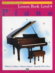 ALFREDS BASIC PIANO COURSE LESSON BOOK 4, Paperback