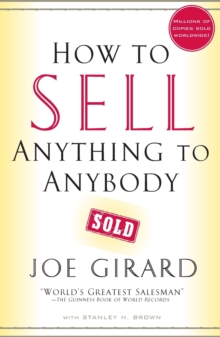 How to Sell Anything to Anybody, Paperback