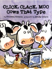 Click, Clack, Moo : Cows That Type, Paperback