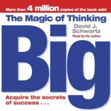 The Magic of Thinking Big, CD-Audio Book