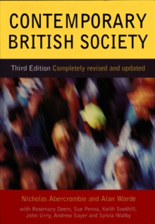 Contemporary British Society, Paperback