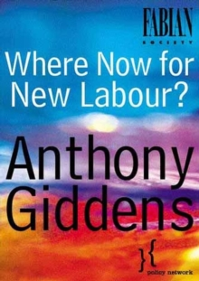 Where Now for New Labour, Paperback