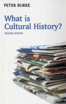 What is Cultural History?, Paperback Book