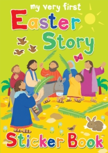 My Very First Easter Story Sticker Book, Paperback