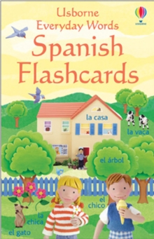 Everyday Words In Spanish Sticker Book, Novelty book Book