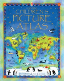 The Usborne Children's Picture Atlas : Miniature Edition, Hardback