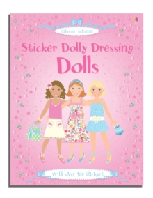 Sticker Dolly Dressing Dolls, Novelty book Book