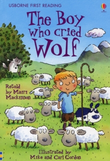 The Boy Who Cried Wolf, Hardback Book