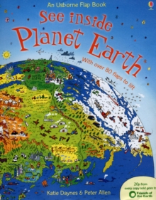 See Inside: Planet Earth, Hardback Book