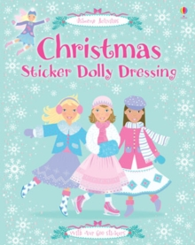 Christmas Sticker Dolly Dressing, Paperback