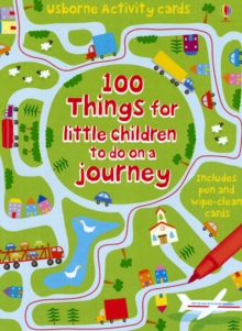 100 Things for Little Children to Do on a Journey, Cards Book