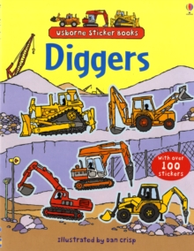 Diggers Sticker Book, Paperback