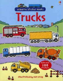 Trucks Sticker Book, Paperback