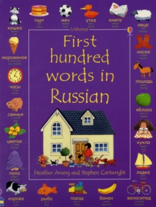 First Hundred Words in Russian, Hardback Book