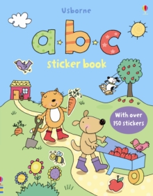 ABC Sticker Book, Board book Book