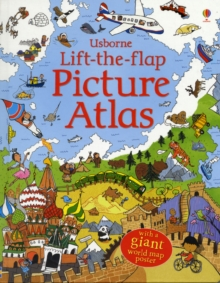 Lift-The-Flap Picture Atlas, Hardback