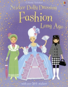 Sticker Dolly Dressing Fashion Long Ago, Paperback