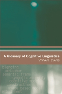 A Glossary of Cognitive Linguistics, Paperback Book