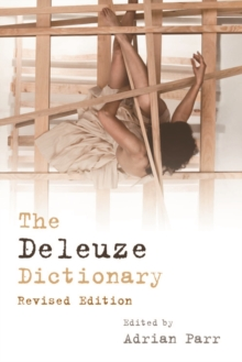 The Deleuze Dictionary, Paperback