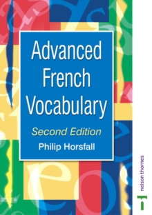 Advanced French Vocabulary, Paperback