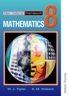 New National Framework Mathematics 8 Core Pupil's Book, Paperback