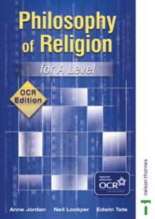Philosophy of Religion for A Level - OCR Edition, Paperback
