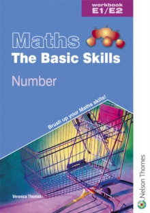 Maths the Basic Skills Number Workbook E1/E2, Paperback