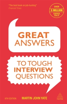 Great Answers to Tough Interview Questions, Paperback