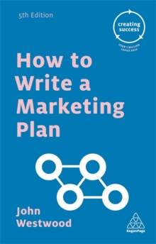 How to Write a Marketing Plan, Paperback