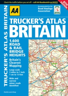 AA Trucker's Atlas Britain, Spiral bound