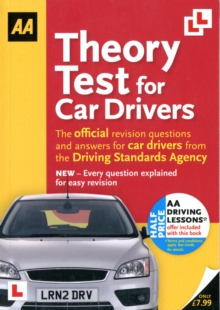 Theory Test for Car Drivers : AA Driving Test, Paperback