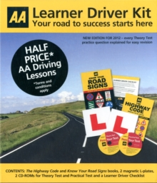 The Learner Driver Kit : AA Driving Test, Mixed media product