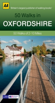 50 Walks in Oxfordshire, Paperback
