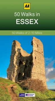 50 Walks in Essex, Paperback Book