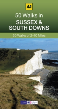 50 Walks in Sussex, Paperback