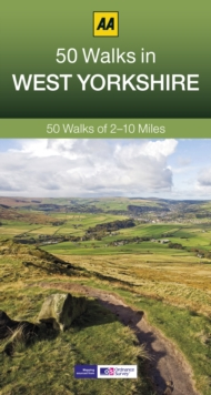 50 Walks in West Yorkshire, Paperback Book