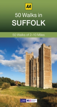 50 Walks in Suffolk, Paperback