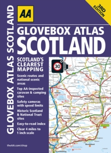 Glovebox Atlas Scotland, Paperback Book